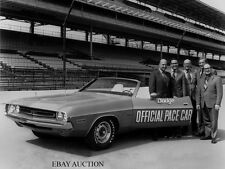 Dodge Challenger Convertible 1971 -pace car Indianapolis 500 May 29, 1971 –photo