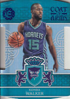 2016-17 Panini Excalibur Coat of Arms Blue #5 Kemba Walker /199