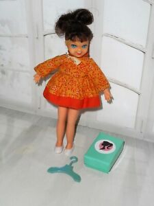 Vintage Barbie HTF COOKIN' GOODIES #3559 TUTTI DOLL IN ORIGINAL DRESS BOW SHOES