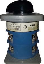 Edpac / Kraus&Naimer C105 100A 600VAC Rotary Switch