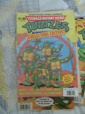 Teenage Mutant Hero Turtles Collector Edition Issue 1-3 RARE + 29 OTHER ISSUES