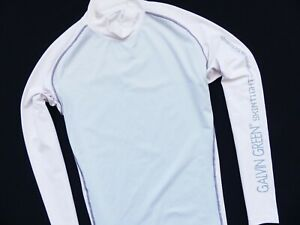 MEN'S GALVIN GREEN SKINTIGHT COMPRESSION PROFESSIONAL GOLF  BASE LAYER SIZE: XL