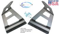 """Dodge Ram 02-08 Mount Brackets For Led Light Bar 50-52"""" Straight Curved Lightbar"""