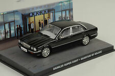 Daimler Super Eight 2008 noir James Bond Film Quantum de Solace 1:43 Ixo