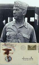 General Walter Krueger WW II Commander Of Sixth & Third Army Autograph ''Rare''