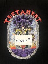 Testament Souls Of Black 1990 1991 Vintage Tour Shirt XL Brockum