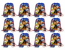 "Paw Patrol Non Woven Sling Bag Party Pack - 12 bags 14"" X 11"""