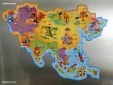 Magnets Brossard Asie carte Savane complète de 12 magnets neufs