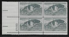 US Scott #1198, Plate Block #27150 1962 Homestead Act 4c FVF MNH Lower Left