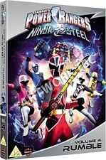Power Rangers Ninja Steel: Volume 4 - Rumble [DVD]