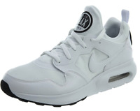 Nike Air Max Prime 876068 100 Mens Shoes Running Black White Leather Dead Stck
