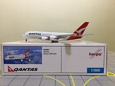 Herpa Wings 1:500 507967 Qantas Airlines Airbus A380-800 VH-OQD