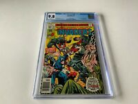 INVADERS 18 CGC 9.8 WHITE PAGES HITLER 1ST DESTROYER SINCE GA MARVEL COMICS 1977