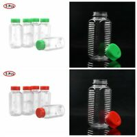 Plastic Spice Jars Seasoning Box Condiment Jar With Lids Pepper Kitchen Bottle