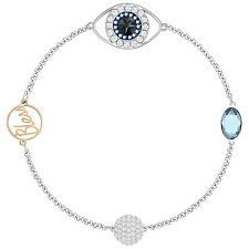 Swarovski 5365749 Remix Evil Eye Boundless Bracelet 17.5cm RRP$99