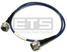 Huber + Suhner ST18/NM/NM/36 Test Port Coax Cable Patch Cord ST18 N Male Coaxial