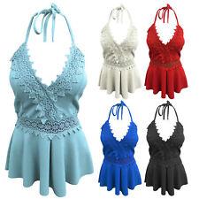 V Neck Viscose Tops & Shirts Size Petite for Women