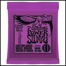 Ernie Ball 2620 Nickel 7-String Power Slinky Electric Guitar Strings 11 - 58