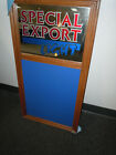 Special Export Light Mirror / Chalk Board. New, Old Stock. G.Heileman Brewing Co