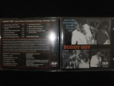 CD BUDDY GUY / LIVE AT THE CHECKERBOARD LOUNGE CHICAGO 1979 /