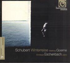 SCHUBERT WINTERREISE / GOERNE & ESCHENBACK (2014 CLASSICAL DIGIPACK CD)