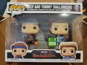 Funko Pop! Marvel Wandavision Billy And Tommy Halloween EXCLUSIVE IN HAND🔥 MINT