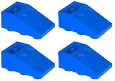 Missing Lego Brick 3747 Blue x 4 Slope Brick 33 3 x 2 Inverted