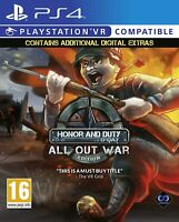 Honor and Duty All Out War Edition - Sony PlayStation 4 VR [PS4 PSVR Action] NEW