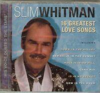 SLIM WHITMAN - 16 GREATEST LOVE SONGS - CD - NEW