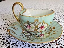 New listing Antique Hand Painted Sevres Cup And Saucer .Made In France