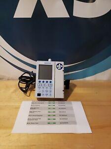 Baxter Sigma Spectrum Infusion Pump v6.05.13 w/Wireless BG Battery & pole clamp
