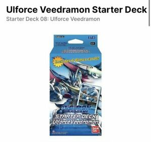 Digimon Starter Deck Veedramon ST8 - English Presale - Ships 10/8/2021