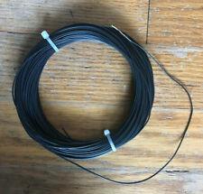 Hidden Stealth Antenna Wire PCV Stranded Black #24 gauge 100 foot HF Dipole EFHW