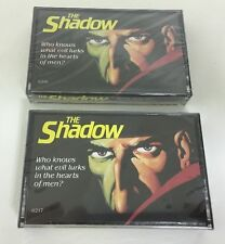 2 The Shadow Orson Wells Radio Cassette Tapes New Sealed Mint!