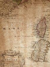 ITALIEN UM 1720 VON JOHANN BAPTIST HOMANN MIT SIZILIEN, SARDINIEN, KOLERIER