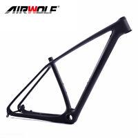 """Mountain Bike Frame Large Carbon Mtb Bike Frames 29er 15/17/19/21"""" UD Black"""