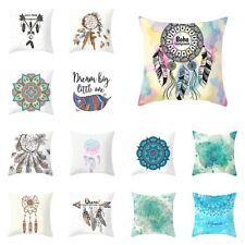 "18"" Dream Catcher Mandala Throw Pillow Case Cushion Cover Pillowcase Home Decor"