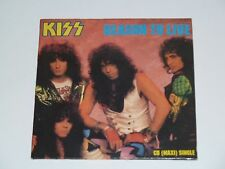 KISS REASON TO LIVE ULTRA RARE UK 4 TRACK CD MAXI SINGLE IN CARDSLEEVE (1987)