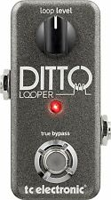 New TC Electronic Ditto Looper Guitar Loop Effects Pedal!
