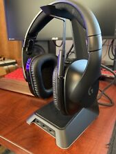 Logitech G533 Wireless Black Headband Headsets for PC. Carrying Case Included