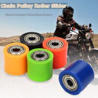 8mm Chain Roller Pulley Slider Tensioner Wheel Guide For Pit Dirt Mini Bike ATV