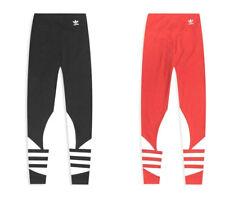Adidas Tight LRG Logo Leggings Donna Vita Alta Slim Fit Casual Elasticizzato