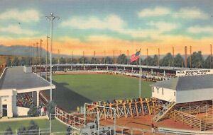 Postcard Spencer Penrose Stadium & Colorado Springs Rodeo Broadmoor~122951