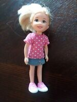 """Blonde Blue Eyed Ty L'il ONES DOLL 4.5"""" 2009 TOY"""
