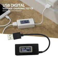 USB Digital Voltage Charging Tester Power Meter Tester Current Charger Monitor