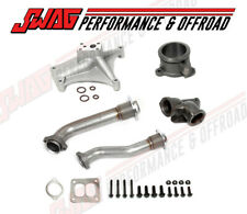 94-97 Ford 7.3 Powerstroke EBV Delete Pedestal Exhaust Housing & Up Pipe Kit