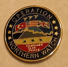 Operation Northern Watch US Chief of Staff Challenge Coin