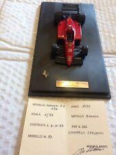 Michele Conti 1/32 Ferrari F1 156 Arnoux 1985 NOT BBR