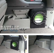 Empty Ford Territory sub box - 10inch Fibreglass ported subwoofer CHARCOAL