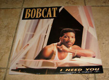 "BOBCAT "" I NEED YOU"" Vinyl SEALED Classic RAP HIP HOP ERA New FREE S/H"